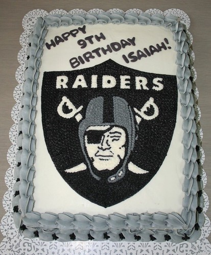 Oakland Raiders Cake Please Let Me Know What You Think