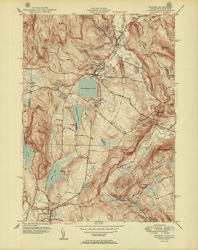 Sharon Quadrangle 1950 - USGS Topographic Map 1:31,680 | by uconnlibrariesmagic