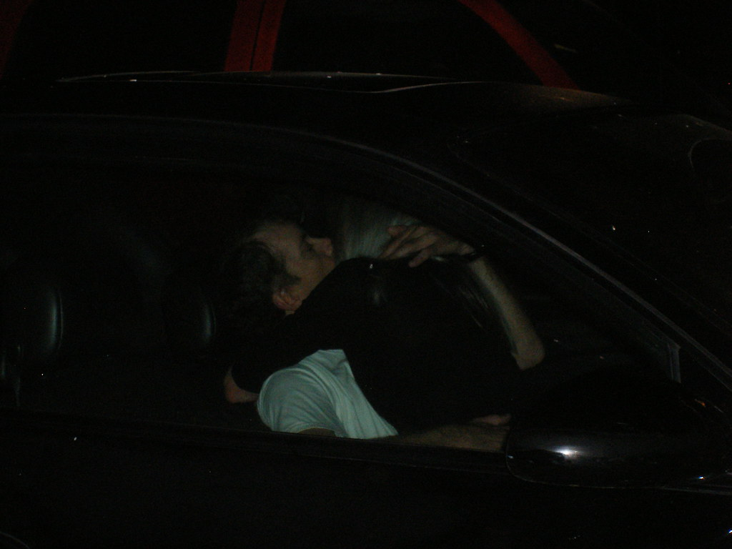 couple making out in car in parking lot do we know this flickr. Black Bedroom Furniture Sets. Home Design Ideas