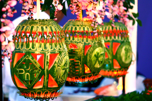 Lit watermelon lanterns | by DIgital DI