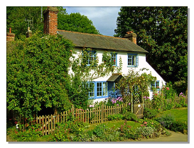 English country cottage peaslake surrey don brubacher for Pictures of english country cottages
