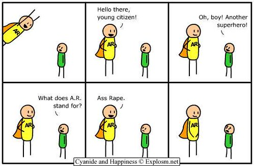 Cyanide and Happiness Lame Ass hat -