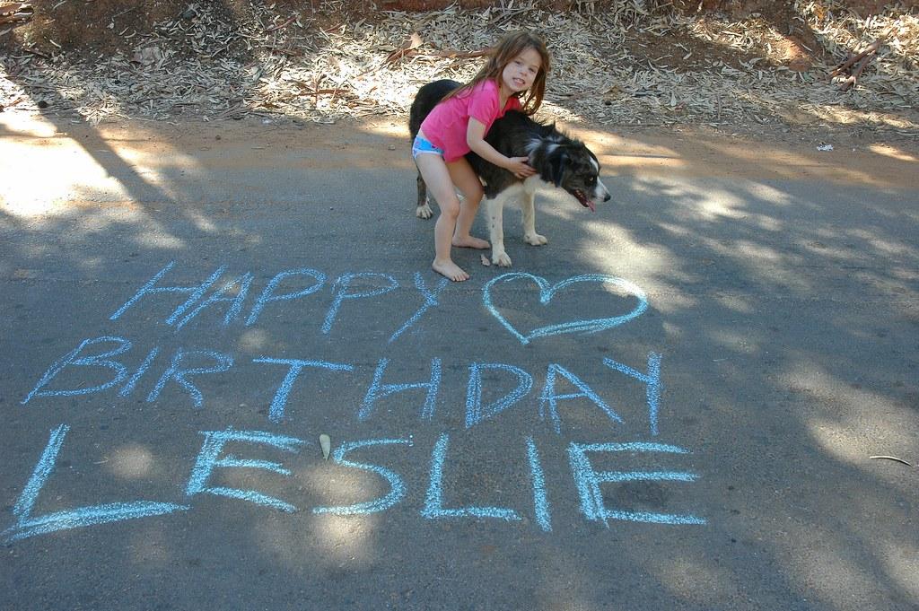 Happy Birthday Leslie Bonnym E Haus Flickr