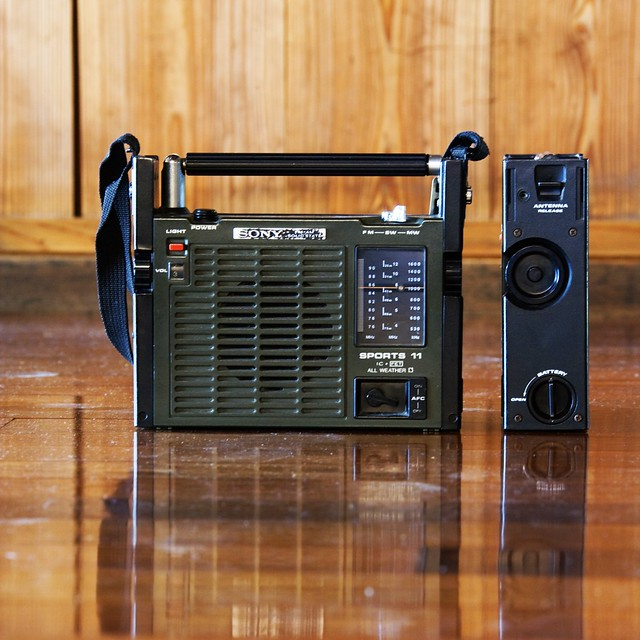 heavy duty gadget 1970 sony icf 111 solid state sports