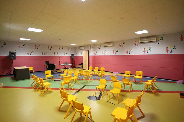Z Classroom Design : Binus school serpong music classroom kindergarten built