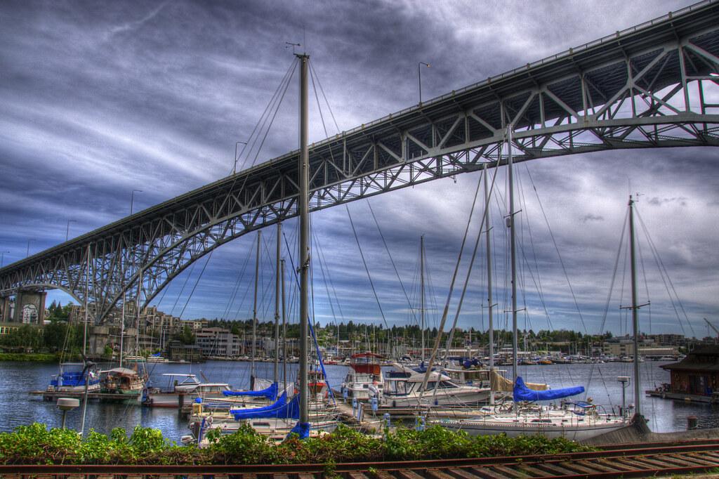 Aurora Bridge Seattle Washington The George Washington