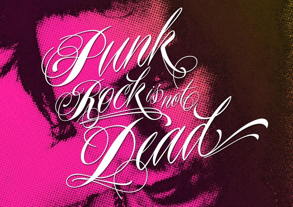 Piel Script Veer Piel Script Punk is Not Dead