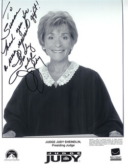 Photograph signed By Judge Judy To Susan | by fandayou_0088