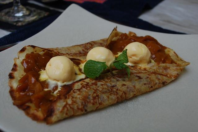 Mango Crepes - Green Tangerine VND169k set lunch   Crepe stu ...