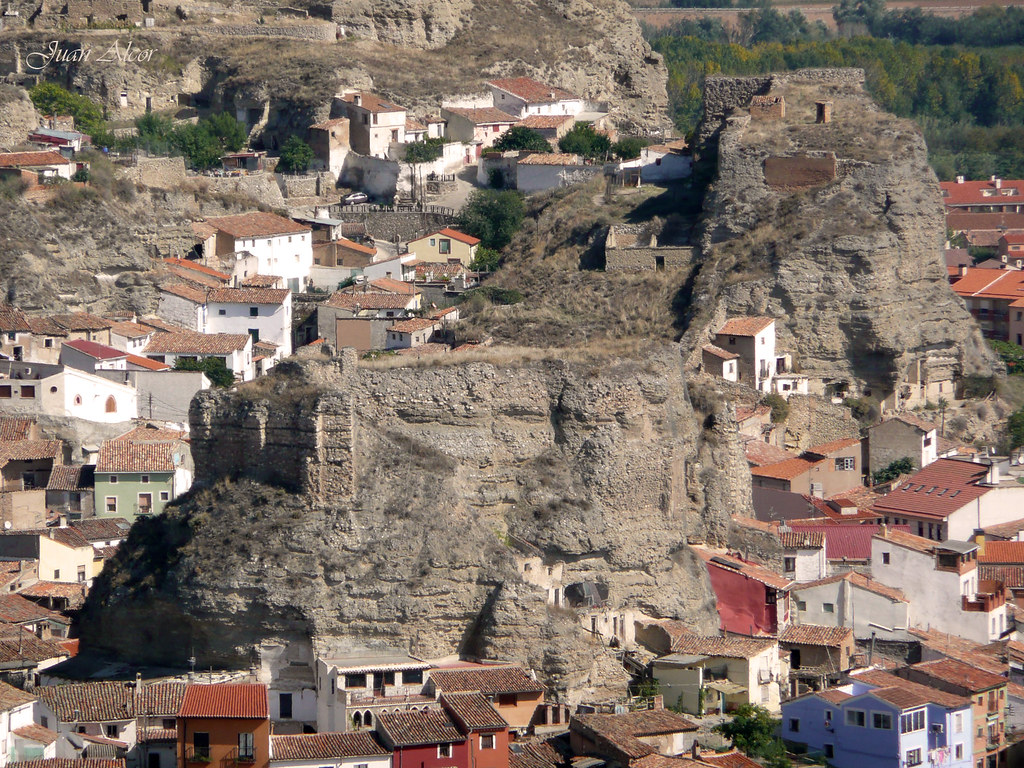 Castillo de do a martina y castillo del reloj calatayud - Castillo de ayud calatayud ...