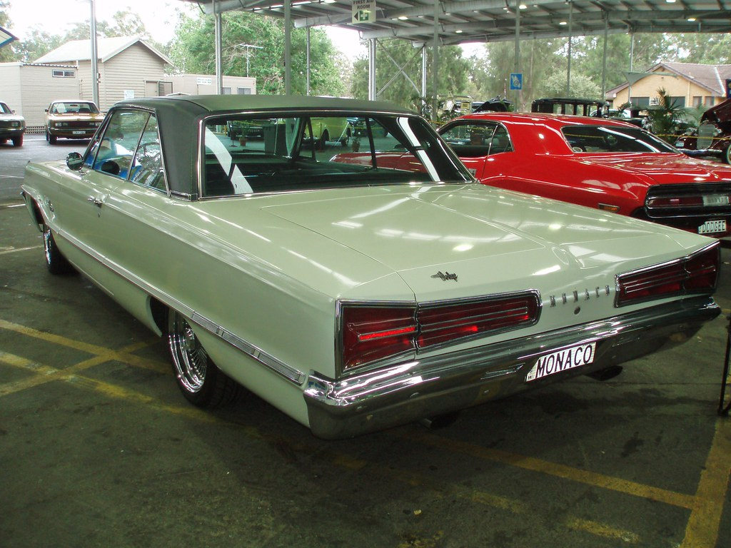 1966 Dodge Monaco 1966 Dodge Monaco Coupe Taken At The