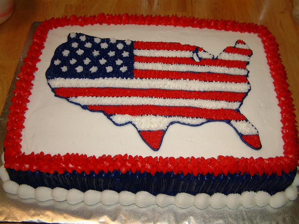 Bc Flag Cake