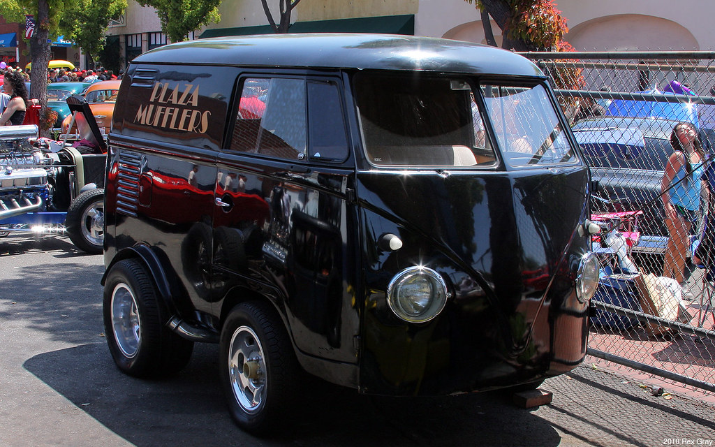 Vw Short Van Mod Fvr Downtown Orange Ca April 18