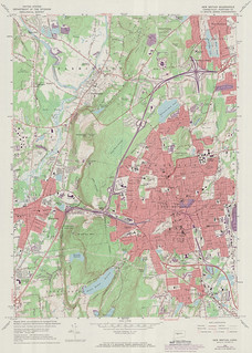 New Britain Quadrangle 1972 - USGS Topographic Map 1:24,000 | by uconnlibrariesmagic