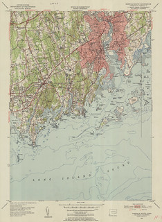Norwalk South Quadrangle 1951 - USGS Topographic Map 1:31,680 | by uconnlibrariesmagic