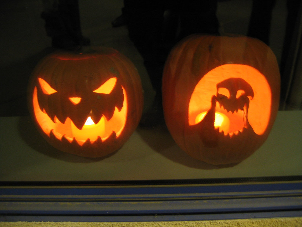 Nightmare Before Christmas Pumpkins | Nick | Flickr