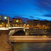 Blue hour on the Pont de la Tournelle HDR*