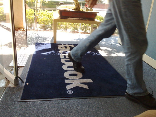 Facebook mat on 151 University | by Robert Scoble