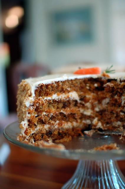 Nuts In Carrot Cake Recipe