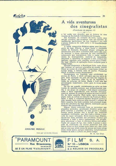Cinéfilo, No. 73, January 11 1930 - 18