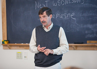 Dr. Paul Kindstedt teaching the NFS 50 Cheese and Culture Class | by CALS at UVM