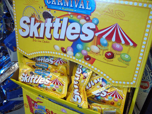 Carnival Skittles Display | by princess_of_llyr