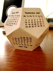 Dodecahedral Calendar 01 | by Dave_Gray