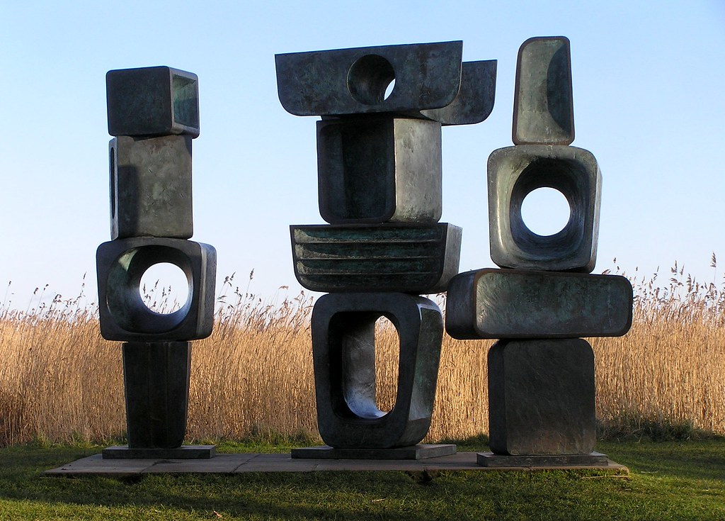 The Family Of Man By Barbara Hepworth At Snape Maltings Flickr