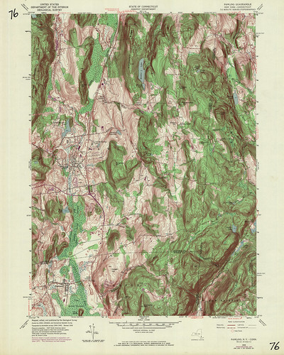 Pawling Quadrangle 1971 - USGS Topographic Map 1:24,000 | by uconnlibrariesmagic