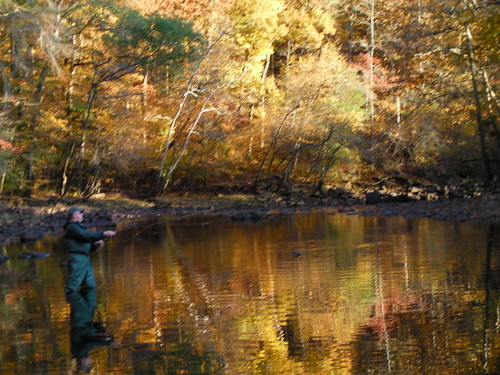 David Grimes Fly Fishing the Little Mo | by WOScholar