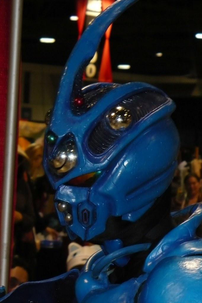 guyver helmet closeup