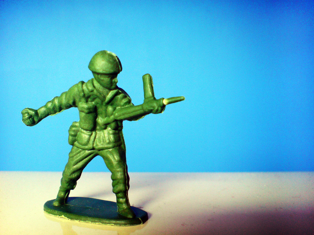B And B Auto >> Green Toy Soldier | Cross process effect from within photosh… | Flickr