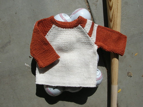 Baby Baseball Tee | by the yarniad