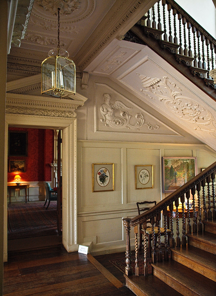 the entrance hall of the 18th century mompesson house in s u2026