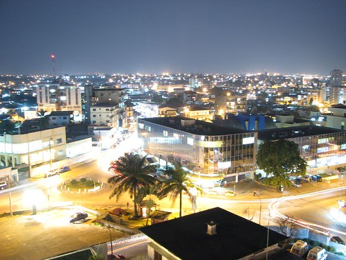 Libreville At Night | by huguesn