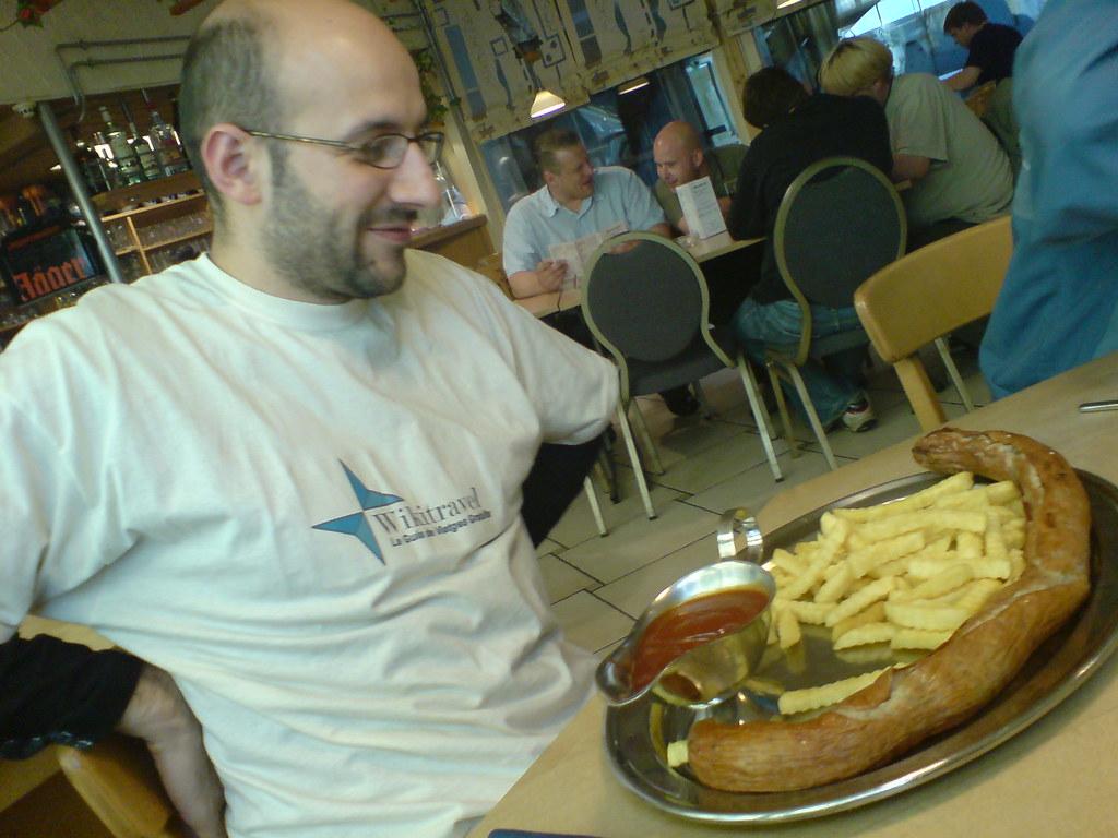 La saltxitxa xxxxxxxl visita al restaurant waldgeist for Albert samain la cuisine