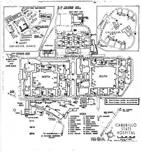 Map of Hospital | by California State University Channel Islands