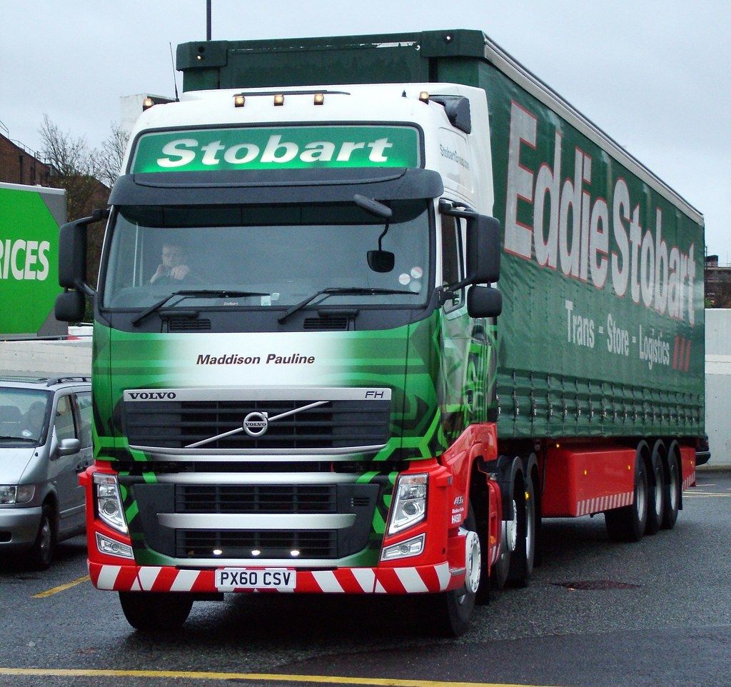 'Maddison Pauline' Volvo FH | Eddie Stobart 'Maddison Paulin… | Flickr