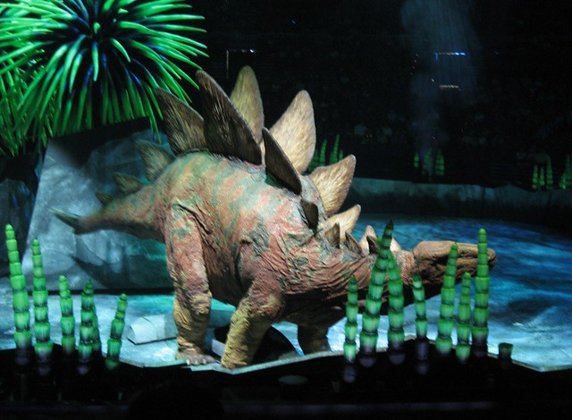 Stegosaurus Walking with Dinosaurs It was a pretty cool … Flickr