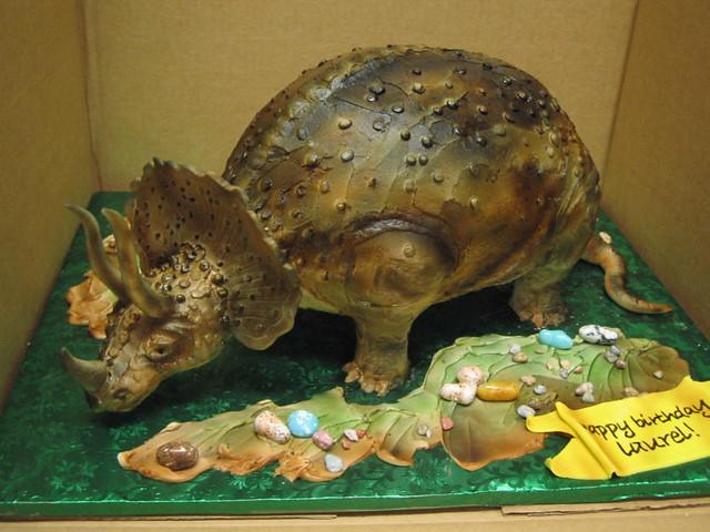 Triceratops Cake Pan