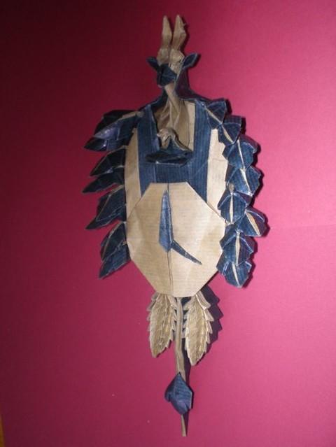 Origami Black Forest Cuckoo Clock
