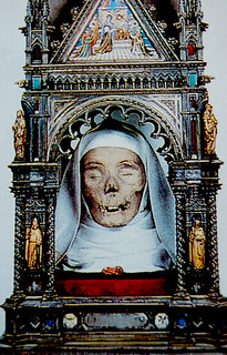 The mummified head of St. Catherine of Siena, Italy | by Curious Expeditions