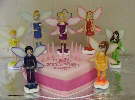 Rainbow Magic Birthday Cake
