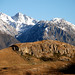 Mount Sunday (Edoras) , Canterbury, New Zealand, June 2007