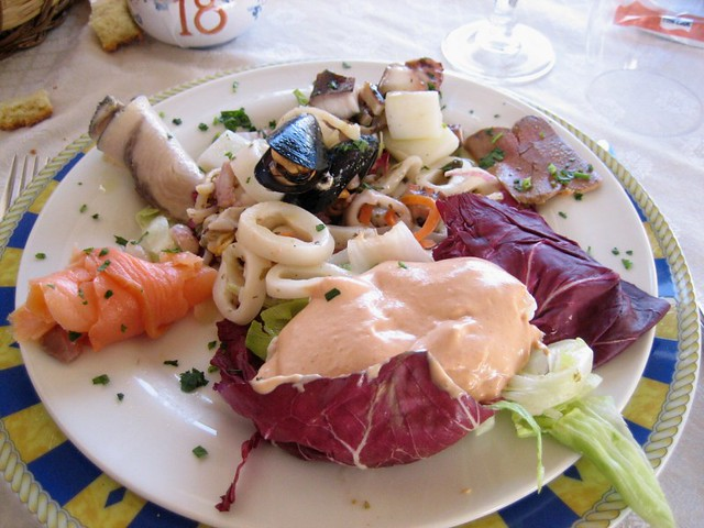 Antipasto di mare se passate da san vito lo capo vi - San vito a tavola ...