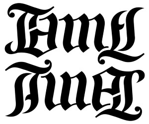 "James"" & ""Tina"" Ambigram 