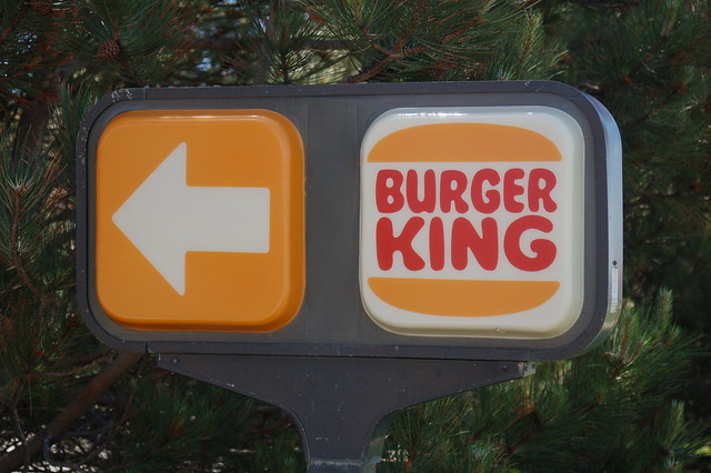 Vintage Burger King Sign Flickr Photo Sharing