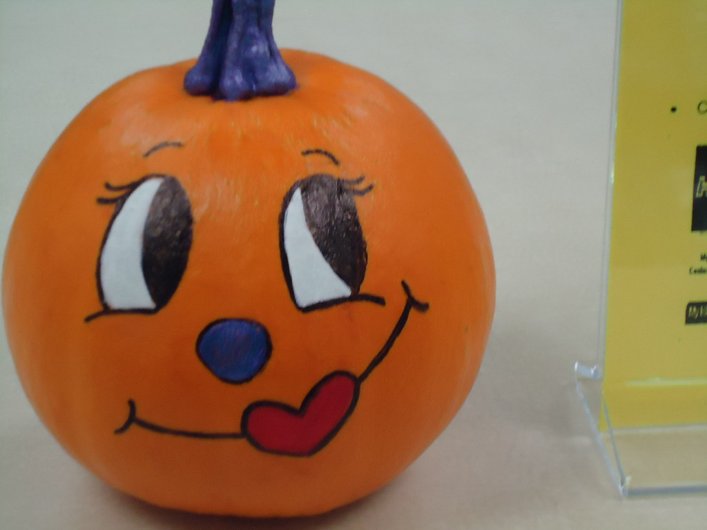 The cute girly pumpkin hpu libraries flickr