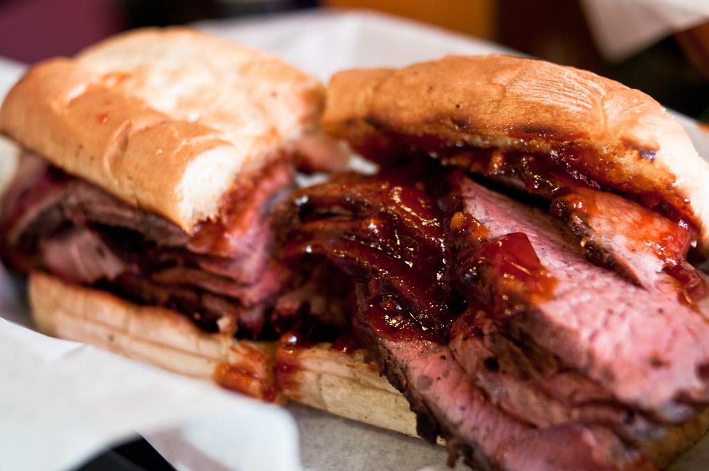 Firestone's Tri-Tip Sandwich   HawYu   Flickr