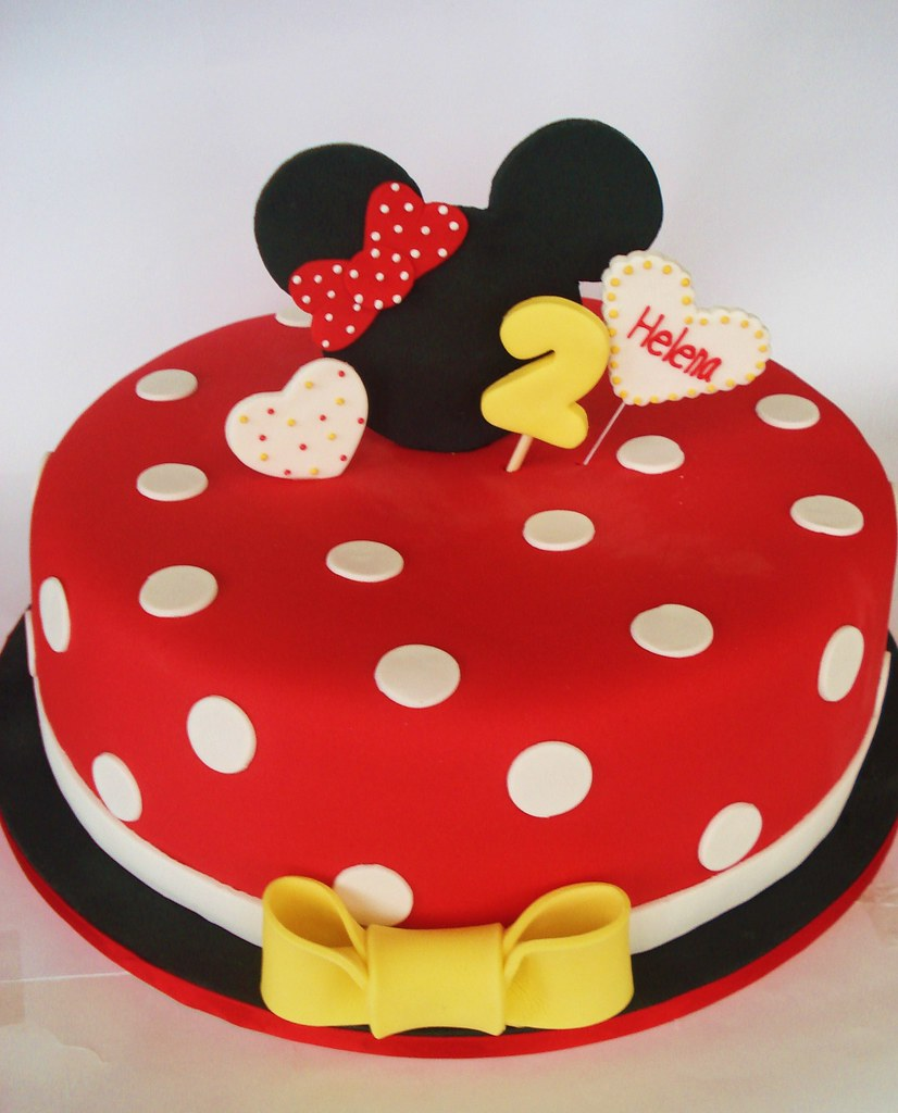 Minnie Mouse Cake Isa Flickr